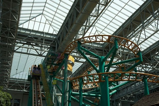 The Fairly Odd Coaster at the Mall of America in Minnesota