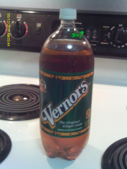 Best if Vernor's Ginger Ale is used because of its sweet flavor.