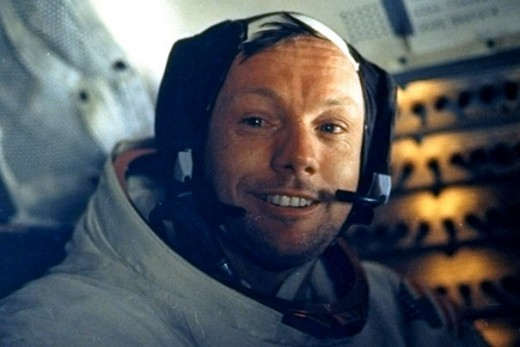 Astronaut Neil Armstrong