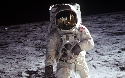 Neil Armstrong on Our Moon