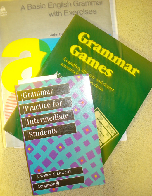 Books for Learning About Grammar Usage