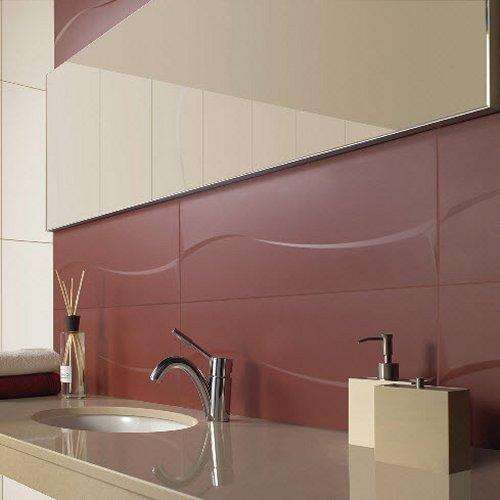 These stunning large format tiles offer a seamless style to any splash-back.