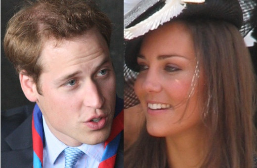 The happy parents to be William and Kate