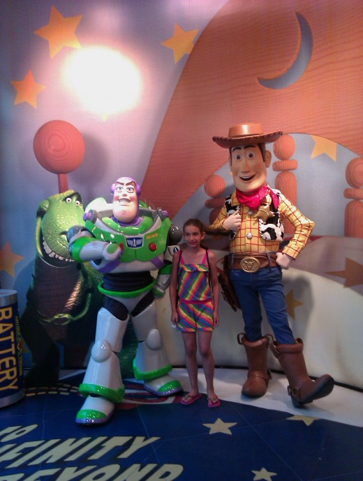 Meeting Woody and Buzz!