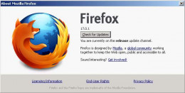 The Firefox About Window