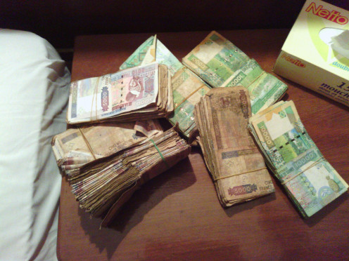 Guinea Currency: Six thousand Guinea Francs To The Dollar