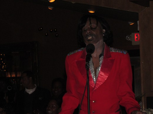 "The very talented CP Lacey of ""Apollo Live"" also appeared as Michael Jackson, James Brown and Stevie Wonder."