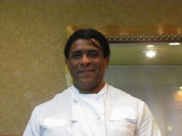 Tony is owner, operater and chef of the delectable food at Celebrations. He also has a very professional and dedicated staff who work diligently to please their customers.