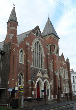Former Baptist Church, Ceylon Place, Eastbourne, East Sussex, England.