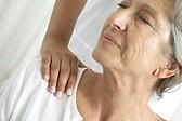 Even the elderly can get massage.
