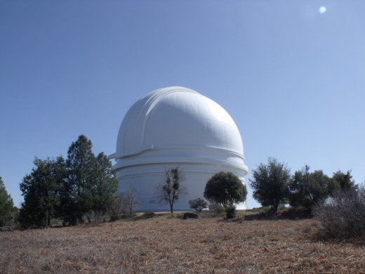 The Palomar Observatory where Hubble brought Einstein