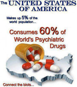 Why do Americans take so many psych meds?