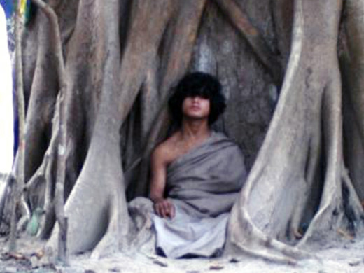 Ram Bahadur Bomjon, nicknamed the Buddha Boy, has been meditating in a forest, in remote Nepal, since 16 May, 2005. It is believed he meditates without eating food or drinking water.