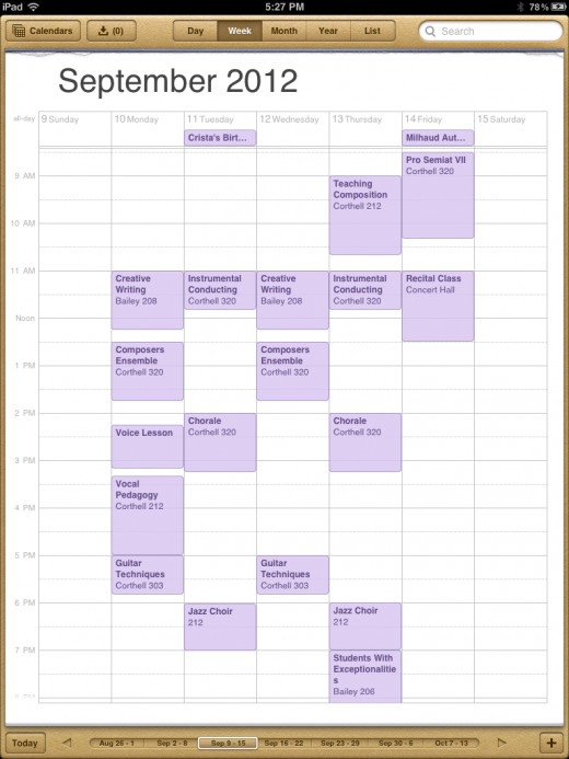A Busy Class Schedule Can Be Supplemented By Involvement