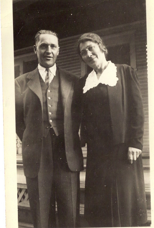 Grandpa and grandma made it through the depression. There was no credit in those days.