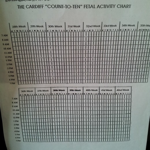This is the kick count chart that I use.