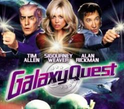 Galaxy Quest (1999) - Tim Allen, & Alan Rickman in a Star Trek parody