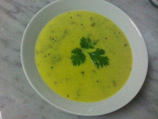 Yogurt Curry ( Indian Traditional  Dish)
