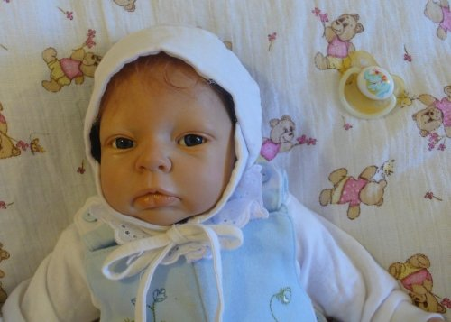 Reborn Doll Looking Like a Real Baby.