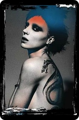 Poster for the Girl with the Dragon Tattoo - truly brought tattoos into everyone's awareness.
