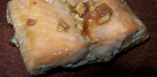 Baked Maple Ginger Salmon