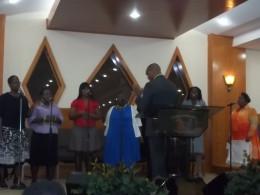 Praise Team & Pastor