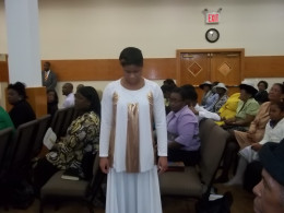 Congregation & Angelic Praise Dance Ministry member.