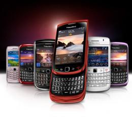 New Blackberry range in 2013