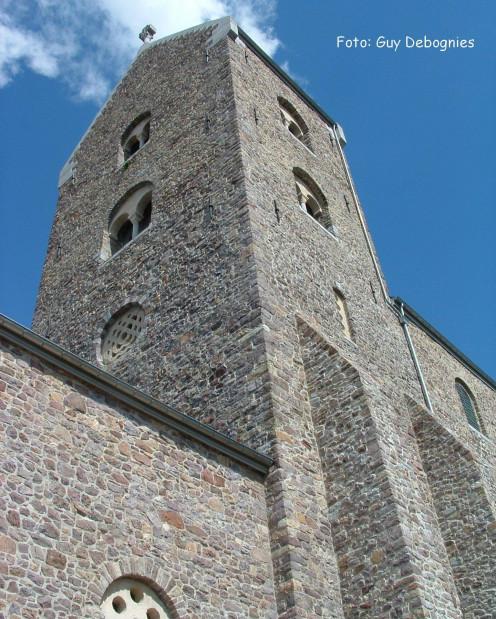 Tower, Collegiate Church of Saint-Ursmer, Lobbes