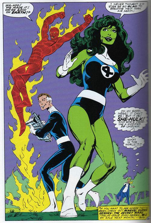 She-Hulk Fantastic Four Costume