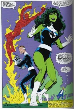 She-Hulk Fantastic Four Costume