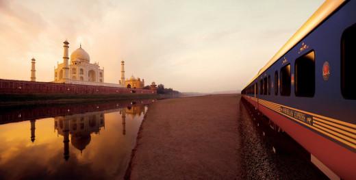 Two Wonders of the World - Maharajas' Express & Taj Mahal