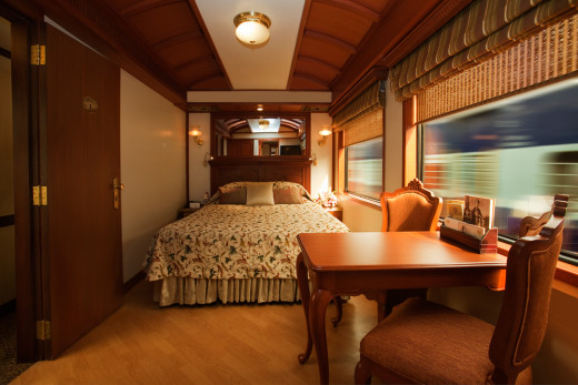 Double Bed, Deluxe Cabin Accommodation, Maharajas' Express Train