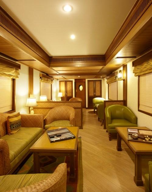Rajah Club, Lounge cum Observation Car of Maharajas' Express