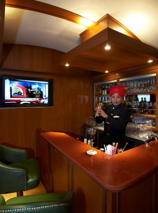 Bar at Rajah Club