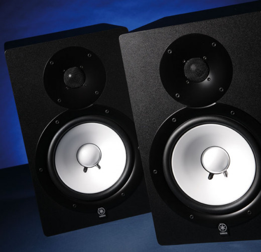 The Yamaha HS80m Studio Monitors