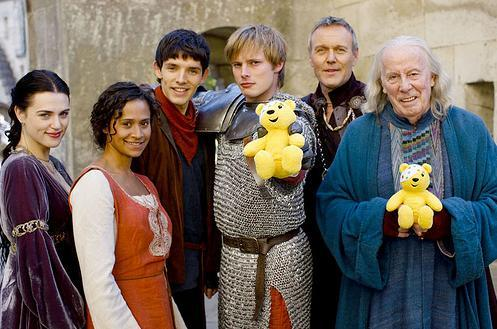 The cast promoting Children in Need