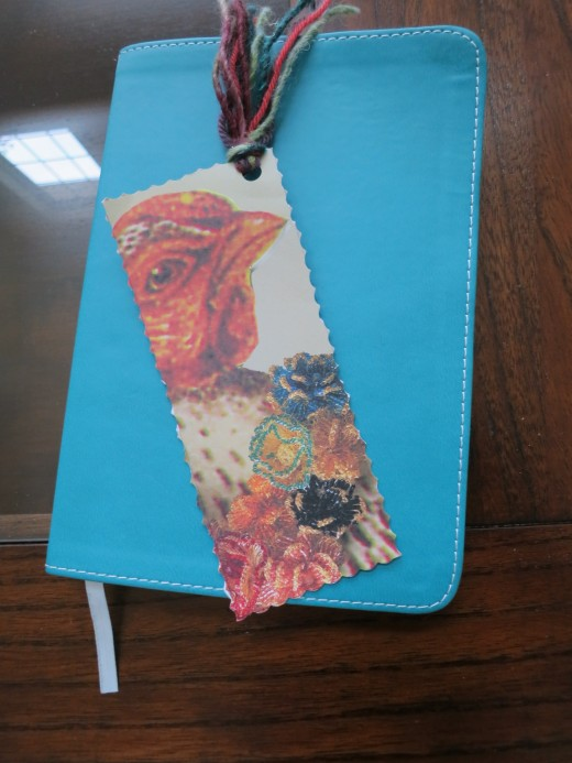 recycle catalogs into bookmarks  (c) purl3agony 2013