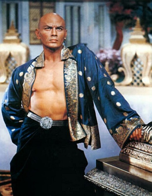 "Yul Brynner as the King of Siam in ""The King & I"""