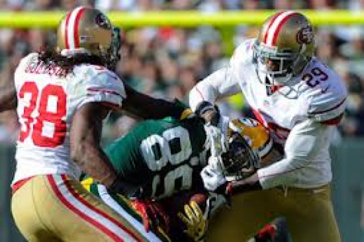 As always physical Intimidation will be a pivotal part of the 49ers' Game Plan