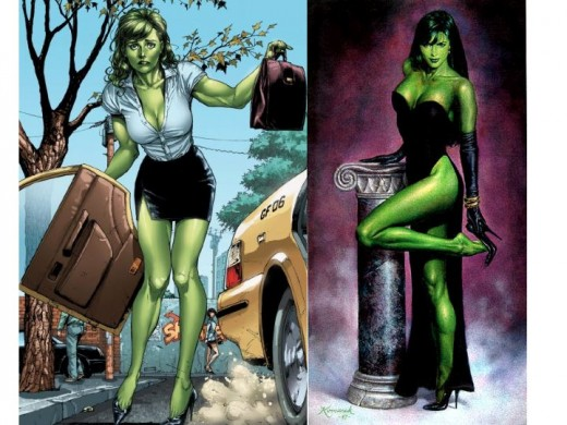 She-Hulk Dressed Formal