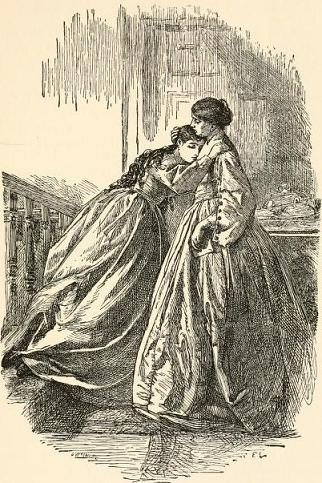 Comfort in Grief, Frederick Walker (1840-1875) [PD:1923]