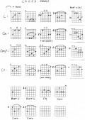 Guitar lesson 5 CAGED Shapes