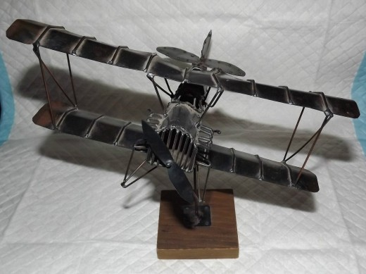 Antique Handcrafted Biplane