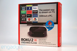 Roku has an entire line of streaming player device. This is what you would be looking for. Other devices that may already be attached to your TV may work as well like an Xbox 360, PlayStation, and other video gaming systems.