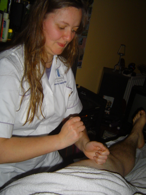 Pummeling is one of many techniques used in Swedish massage.