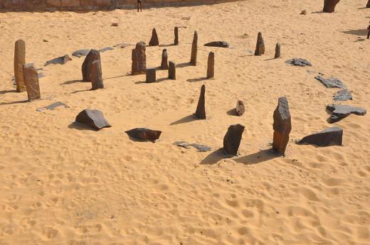Nabta Playa calendar in Aswan Nubia museum