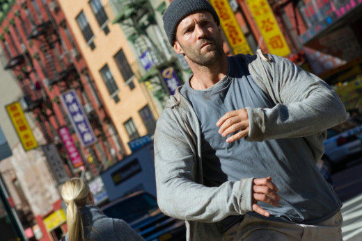 Screen shot of Jason Statham in Safe (2012)