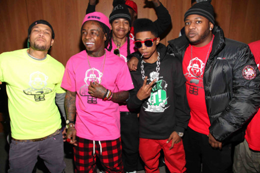 Lil Wayne and the friends rocking TRUKFIT