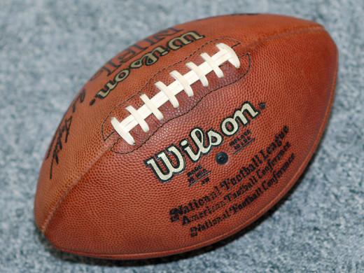 A Pro NFL football